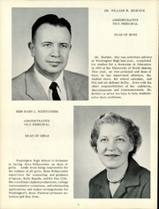 Page 12, 1959 Edition, Washington High School - Lens Yearbook (Portland, OR) online yearbook collection