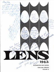 Page 5, 1962 Edition, Washington High School - Lens Yearbook (Portland, OR) online yearbook collection