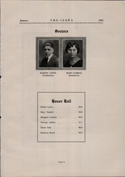 Page 11, 1924 Edition, Oshkosh High School - Index Yearbook (Oshkosh, WI) online yearbook collection