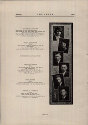 Page 12, 1924 Edition, Oshkosh High School - Index Yearbook (Oshkosh, WI) online yearbook collection