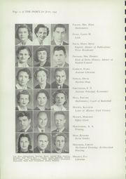 Page 14, 1943 Edition, Oshkosh High School - Index Yearbook (Oshkosh, WI) online yearbook collection
