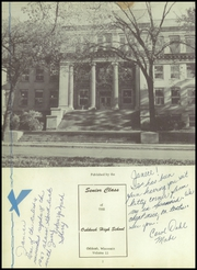 Page 6, 1957 Edition, Oshkosh High School - Index Yearbook (Oshkosh, WI) online yearbook collection