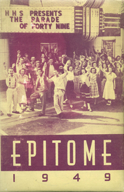 Page 1, 1949 Edition, Hagerstown High School - Epitome Yearbook (Hagerstown, IN) online yearbook collection