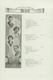 Page 17, 1922 Edition, Van Wert High School - Excalibur Yearbook (Van Wert, OH) online yearbook collection