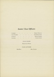 Page 14, 1923 Edition, Van Wert High School - Excalibur Yearbook (Van Wert, OH) online yearbook collection