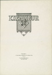 Page 3, 1923 Edition, Van Wert High School - Excalibur Yearbook (Van Wert, OH) online yearbook collection
