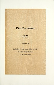 Page 11, 1929 Edition, Van Wert High School - Excalibur Yearbook (Van Wert, OH) online yearbook collection