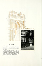 Page 12, 1929 Edition, Van Wert High School - Excalibur Yearbook (Van Wert, OH) online yearbook collection