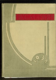 1938 Edition, Van Wert High School - Excalibur Yearbook (Van Wert, OH)