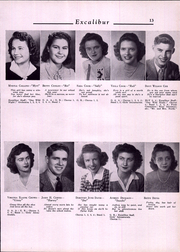 Page 15, 1943 Edition, Van Wert High School - Excalibur Yearbook (Van Wert, OH) online yearbook collection