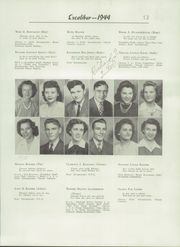 Page 17, 1944 Edition, Van Wert High School - Excalibur Yearbook (Van Wert, OH) online yearbook collection