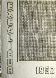 1952 Edition, Van Wert High School - Excalibur Yearbook (Van Wert, OH)