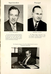 Page 12, 1952 Edition, Van Wert High School - Excalibur Yearbook (Van Wert, OH) online yearbook collection