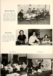 Page 13, 1952 Edition, Van Wert High School - Excalibur Yearbook (Van Wert, OH) online yearbook collection