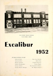 Page 5, 1952 Edition, Van Wert High School - Excalibur Yearbook (Van Wert, OH) online yearbook collection