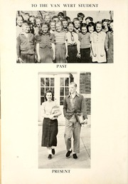 Page 8, 1952 Edition, Van Wert High School - Excalibur Yearbook (Van Wert, OH) online yearbook collection
