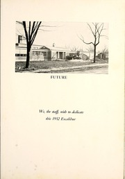 Page 9, 1952 Edition, Van Wert High School - Excalibur Yearbook (Van Wert, OH) online yearbook collection