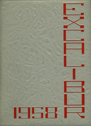 1958 Edition, Van Wert High School - Excalibur Yearbook (Van Wert, OH)