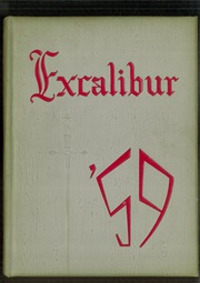 1959 Edition, Van Wert High School - Excalibur Yearbook (Van Wert, OH)