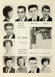 Page 16, 1962 Edition, Van Wert High School - Excalibur Yearbook (Van Wert, OH) online yearbook collection