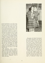 Page 9, 1962 Edition, Van Wert High School - Excalibur Yearbook (Van Wert, OH) online yearbook collection