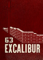 1963 Edition, Van Wert High School - Excalibur Yearbook (Van Wert, OH)