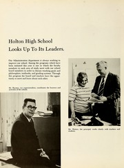 Page 14, 1971 Edition, Holton High School - Exodus Yearbook (Holton, MI) online yearbook collection