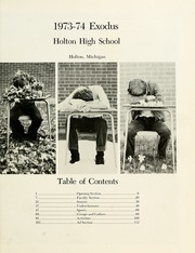 Page 5, 1974 Edition, Holton High School - Exodus Yearbook (Holton, MI) online yearbook collection