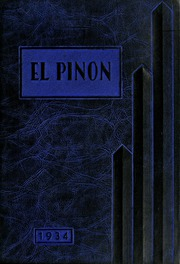 Page 1, 1934 Edition, Bishop Union High School - El Pinon Yearbook (Bishop, CA) online yearbook collection