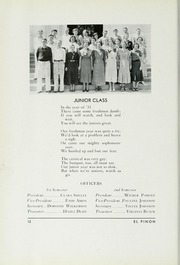 Page 16, 1934 Edition, Bishop Union High School - El Pinon Yearbook (Bishop, CA) online yearbook collection