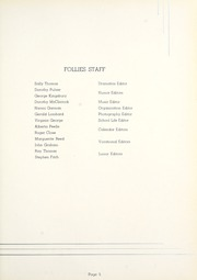 Page 9, 1936 Edition, Auburn High School - Follies Yearbook (Auburn, IN) online yearbook collection