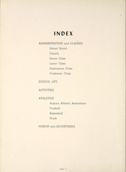 Page 6, 1949 Edition, Auburn High School - Follies Yearbook (Auburn, IN) online yearbook collection