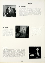 Page 12, 1952 Edition, Auburn High School - Follies Yearbook (Auburn, IN) online yearbook collection