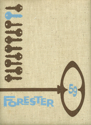 1959 Edition, Evergreen High School - Forester Yearbook (Seattle, WA)
