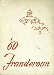 1960 Edition, Roosevelt High School - Franderoan Yearbook (Atlanta, GA)