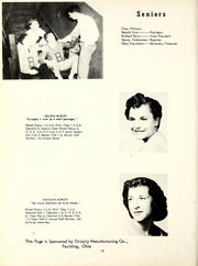 Page 16, 1954 Edition, Blue Creek High School - Galaxy Yearbook (Haviland, OH) online yearbook collection