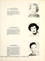 Page 17, 1954 Edition, Blue Creek High School - Galaxy Yearbook (Haviland, OH) online yearbook collection