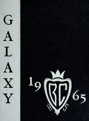 1965 Edition, Blue Creek High School - Galaxy Yearbook (Haviland, OH)