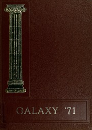 1971 Edition, Blue Creek High School - Galaxy Yearbook (Haviland, OH)