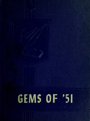Rockcreek High School - Gems Yearbook (Bluffton, IN) online yearbook collection, 1951 Edition, Page 1