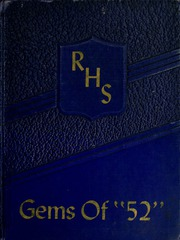 Rockcreek High School - Gems Yearbook (Bluffton, IN) online yearbook collection, 1952 Edition, Page 1
