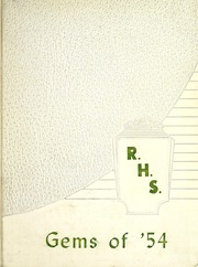 Rockcreek High School - Gems Yearbook (Bluffton, IN) online yearbook collection, 1954 Edition, Page 1