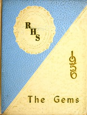 Page 1, 1956 Edition, Rockcreek High School - Gems Yearbook (Bluffton, IN) online yearbook collection