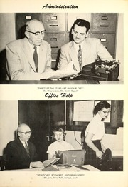 Page 7, 1956 Edition, Rockcreek High School - Gems Yearbook (Bluffton, IN) online yearbook collection