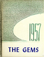 Rockcreek High School - Gems Yearbook (Bluffton, IN) online yearbook collection, 1957 Edition, Page 1