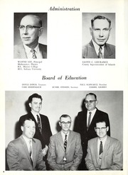 Page 8, 1959 Edition, Rockcreek High School - Gems Yearbook (Bluffton, IN) online yearbook collection