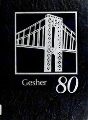 Page 1, 1980 Edition, Yeshiva High School - Gesher Yearbook (Atlanta, GA) online yearbook collection