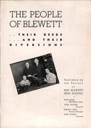 Page 5, 1940 Edition, Ben Blewett High School - Brochure Yearbook (St Louis, MO) online yearbook collection