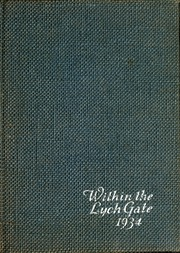 1934 Edition, Hannah More School - Within the Lych Gate Yearbook (Reisterstown, MD)