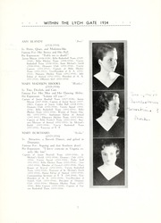 Page 11, 1934 Edition, Hannah More School - Within the Lych Gate Yearbook (Reisterstown, MD) online yearbook collection